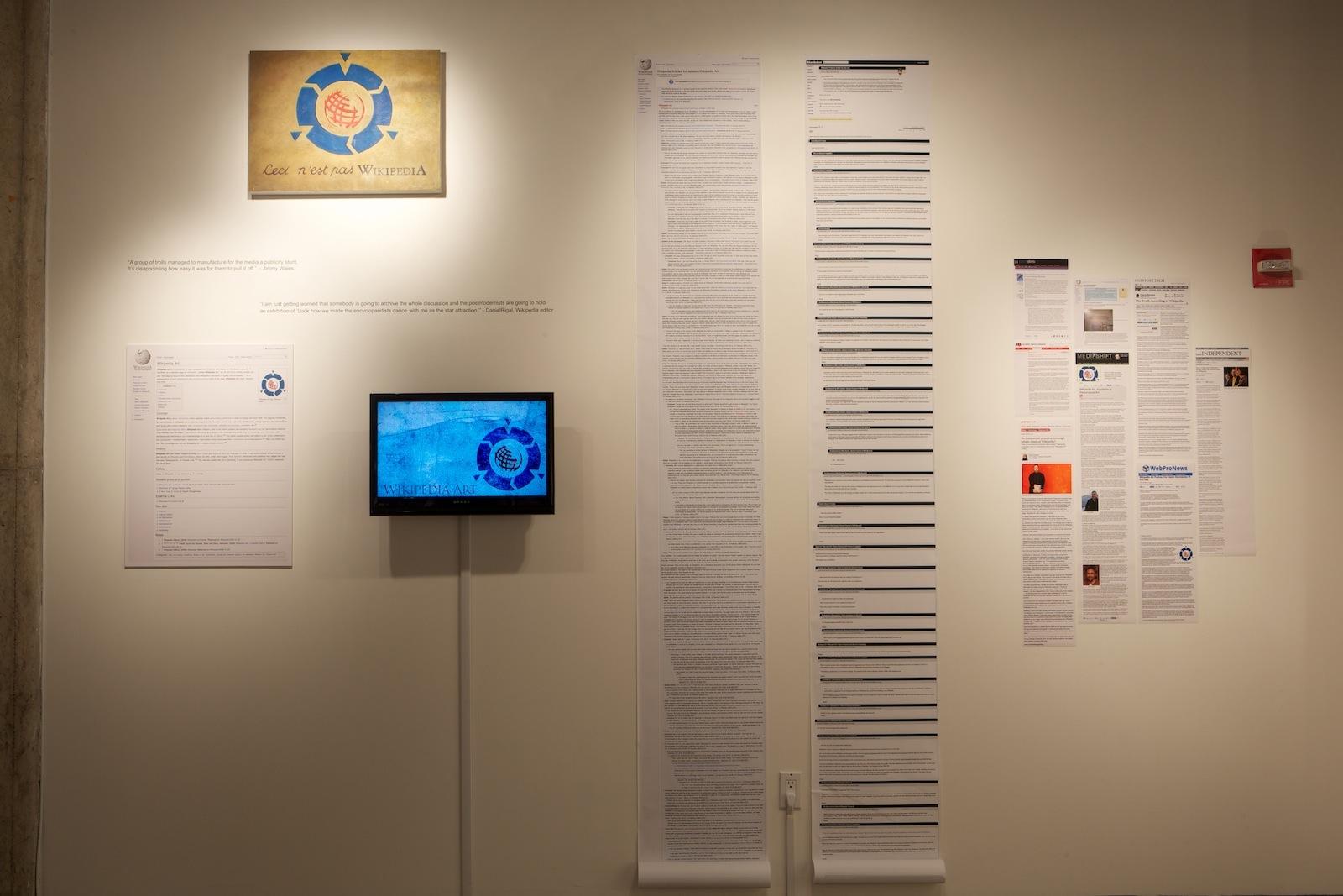 wikipedia art