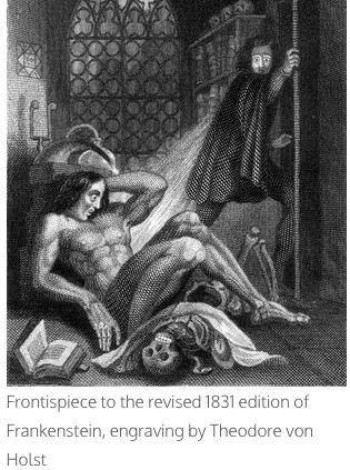 Frankenstein a modern prometheus essay