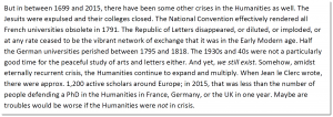 "Floris Solleveld — ""Was there ever not a Crisis in the Humanities?"""